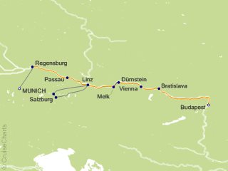 7 Night Holiday Magic   Danube Family River Cruise from Munich