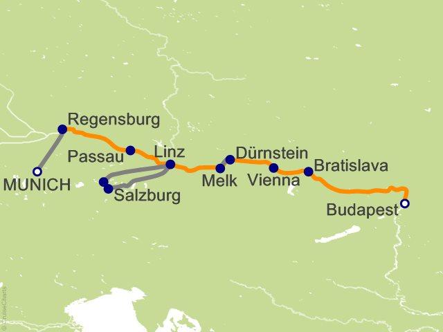 7 Night Holiday Magic   Danube Family River Cruise