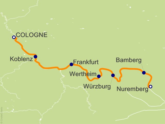 7 Night Romance on the Main   Cologne to Nuremberg Cruise