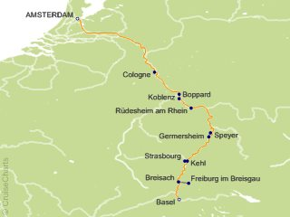 7 Night Castles Along the Rhine Cruise from Amsterdam