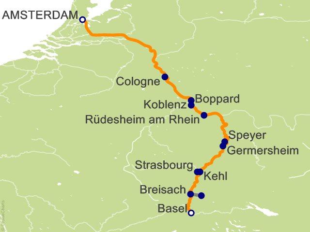 7 Night Castles Along the Rhine Cruise