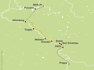 9 Night Christmas Along the Elbe Cruise and Land Tour from Berlin