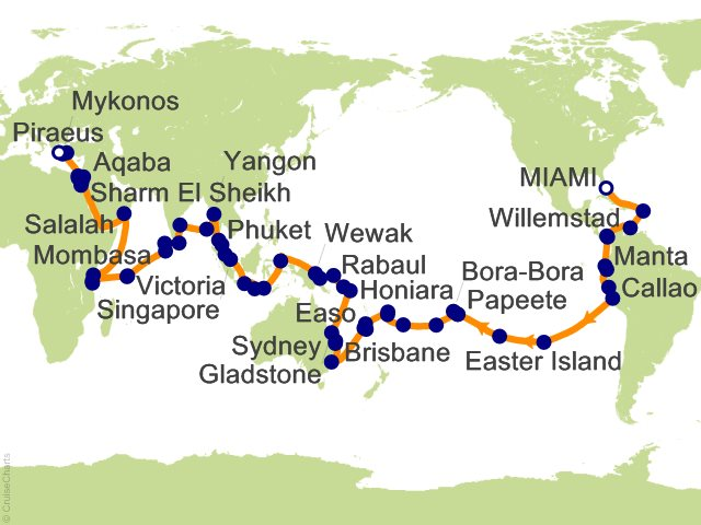 118 Night Wild Kingdoms and Exotic Discoveries Cruise