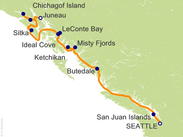 12 Night Inside Passage and Glacier Bay Wilderness Cruise