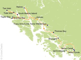 14 Night Eastern Fjords and Glacier Bay Cruise   Ultimate Expedition Cruise from Ketchikan