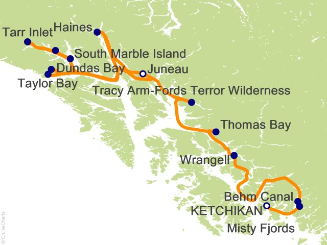 14 Night Eastern Fjords and Glacier Bay Cruise   Ultimate Expedition Cruise