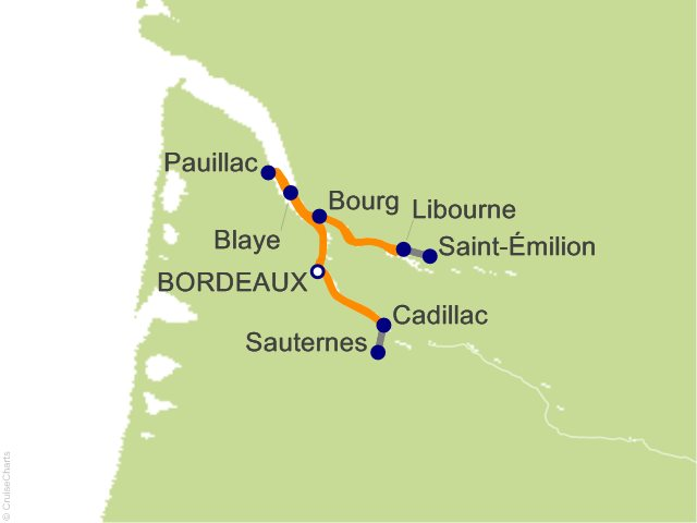 7 Night Chateaux  Rivers and Wine Cruise