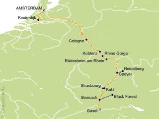 7 Night Rhine Getaway Cruise from Amsterdam