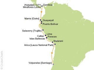 15 Night Andean Coast Expedition from Jungle to Desert Cruise and Land Tour from Panama City