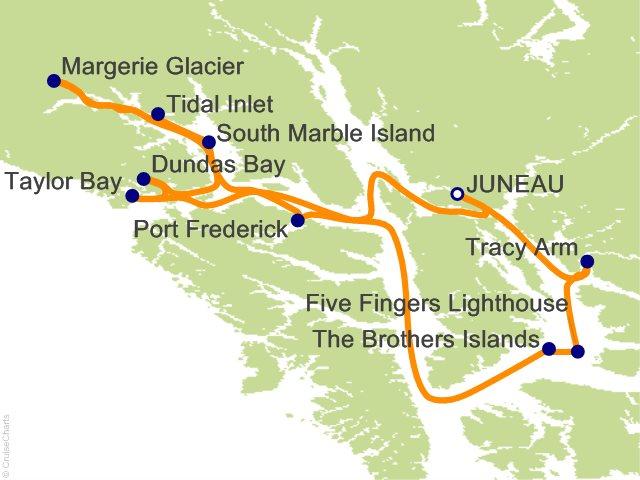 7 Night Glacier Bay National Park Adventure Cruise