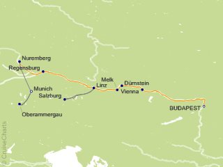 10 Night Gems of the Danube with Bavaria and Oberammergau Cruise and Land Tour from Budapest