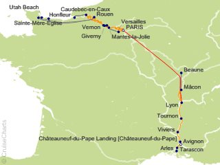14 Night Grand France Cruise and Land Tour from Paris