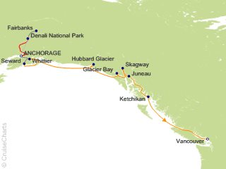 10 Night Denali Cruise and Land Tour from Anchorage