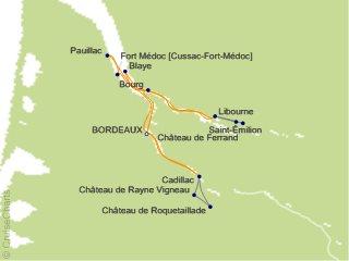 7 Night Taste of Bordeaux Cruise from Bordeaux