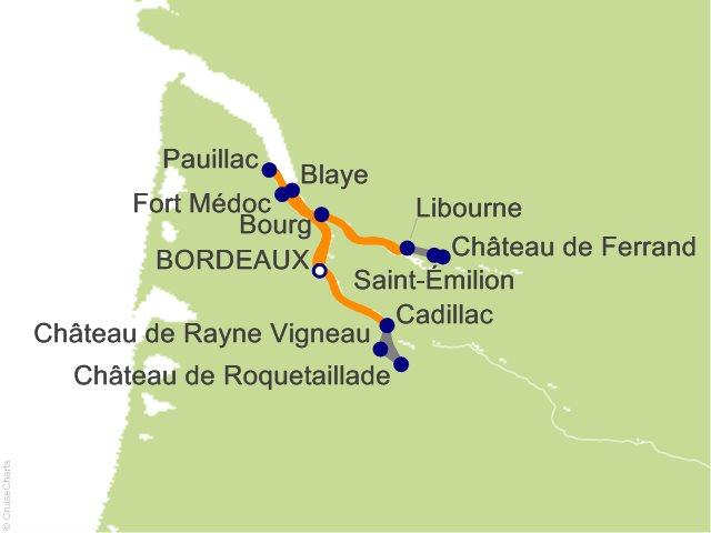 7 Night Taste of Bordeaux Cruise
