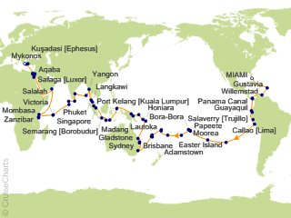 118 Night Wild Kingdoms and Exotic Discoveries Cruise from Miami