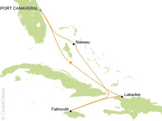 6 Night Western Caribbean Cruise from Port Canaveral