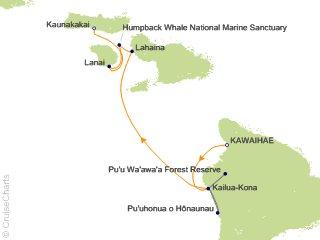 7 Night Hawaiian Seascapes Cruise from Kawaihae