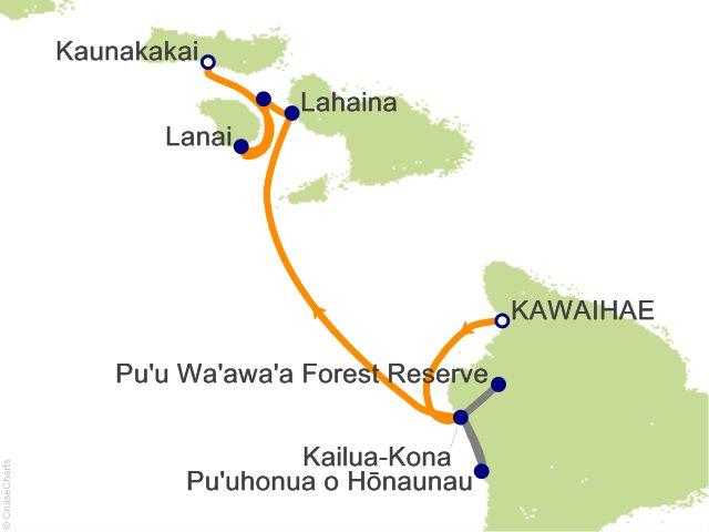7 Night Hawaiian Seascapes Cruise